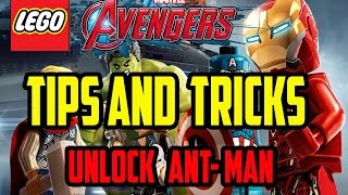 LEGO Marvel Avengers - Tips and Tricks - Unlock Ant Man / Lou Ferrigno / Incredible Hulk