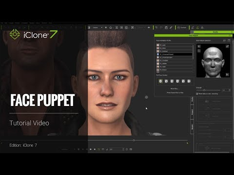 iClone 7 Tutorial - Face Puppet