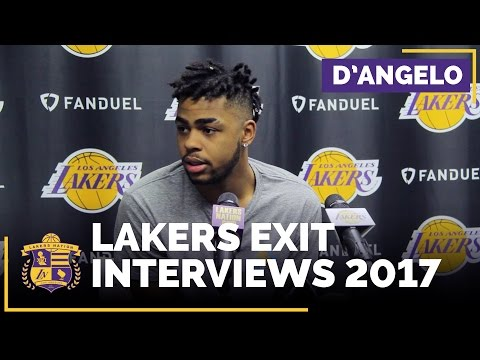 D'Angelo Russell: Lakers Exit Interview 2017