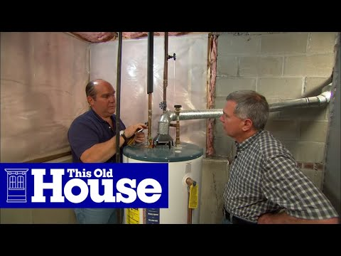 How To Replace A Corroded Water-Heater Fitting | This Old House