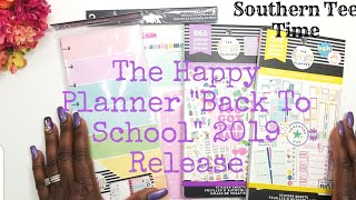 NEW Happy Planner 2019 Back to School Student Release Sticker books 578 & 866 flipthrough