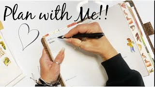 Plan with Me!!! #planwithme #Planning