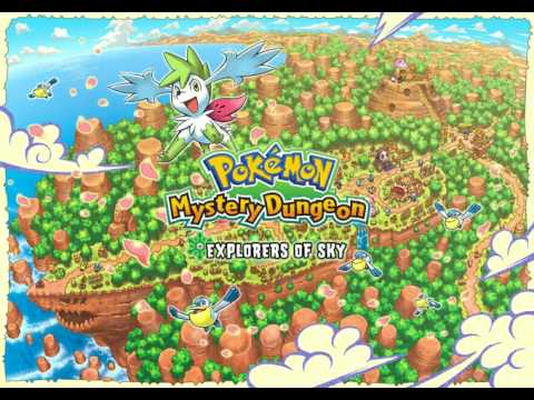 Pokemon Mystery Dungeon Explorers of Sky Full OST
