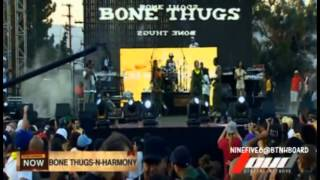 Bone Thugs N Harmony - Resurrection (Paper, Paper) Live @ Rock The Bells
