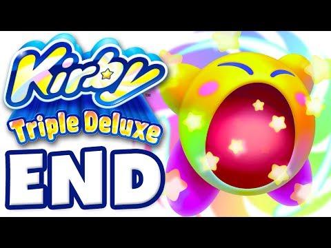 Kirby Triple Deluxe - Gameplay Walkthrough Part 7 - Level 7 Eternal Dreamland Queen Sectonia Boss!