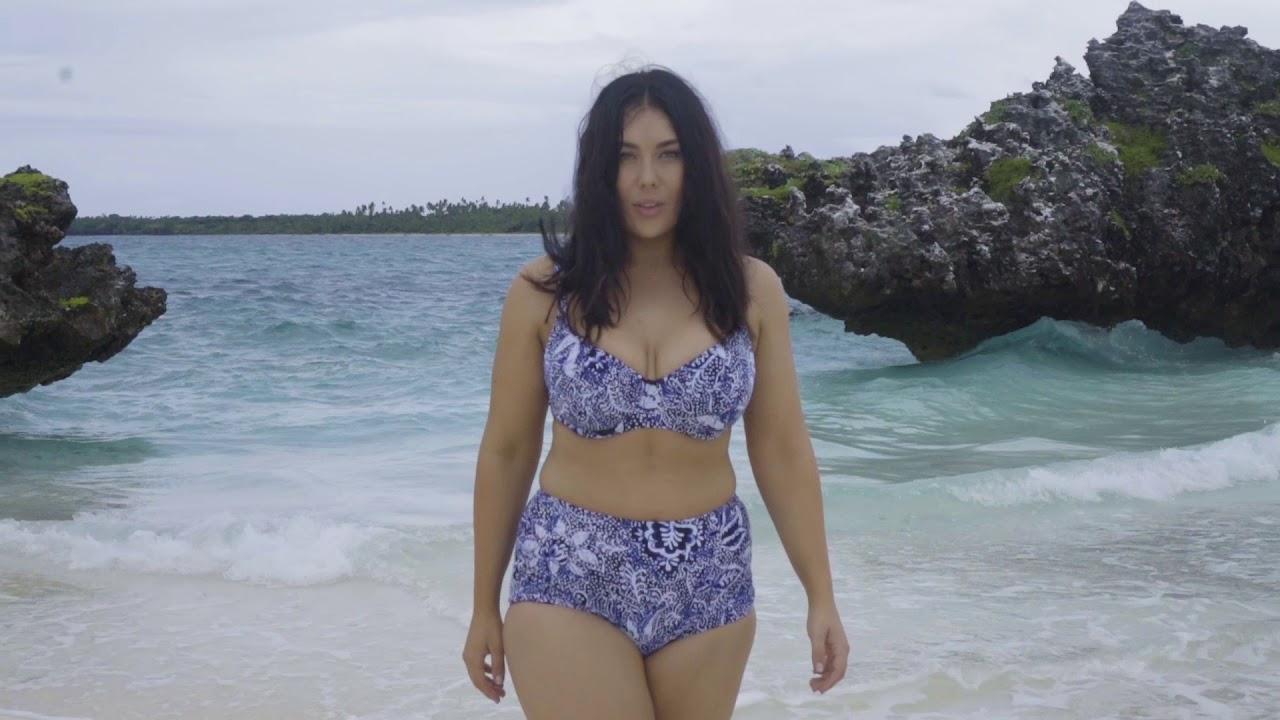 4ecef64997e Women s Plus Size Swimwear - Curvy Swimwear - Curvy by Capriosca Swimwear  Batik Bikini Swimsuit