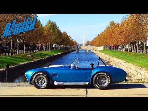 Test Driving 1965 Shelby Cobra 575 Horsepower Muscle Car