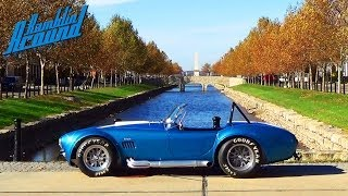 Test Driving 1965 Shelby Cobra 575 Horsepower Muscle Car - 427 Side-Oiler CSX4891