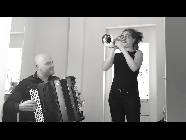 Airelle Besson & Lionel Suarez live 2017 at Salzburg Jazz & The City, Jewelry De Ungaria