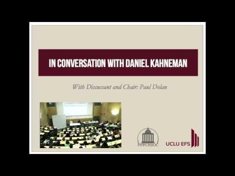 In Conversation with Daniel Kahneman - UCLU EFS