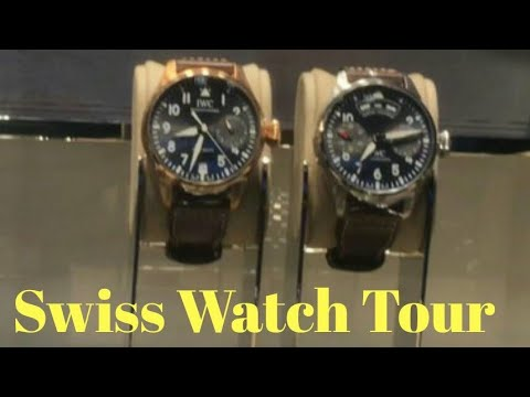 Swiss Watch Tours/swiss Watches/luxury Watches/Indian Vlogger In Germany 2019