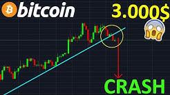 BITCOIN 3.000$ CRASH PUISSANT EN APPROCHE !? btc analyse technique crypto monnaie