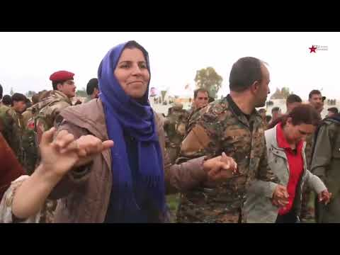 YPG YPJ strana nu 2019 Heza Daiş Şikandın Şervane me