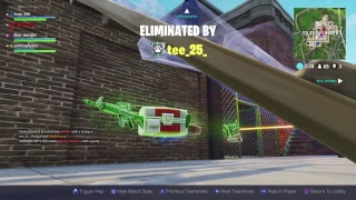 Fortnite update 1.56 tilted getting destroyed new dlc weapon//come chill//Road to 330 subs