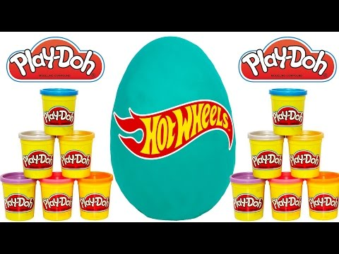 Giant Play Doh Surprise Egg