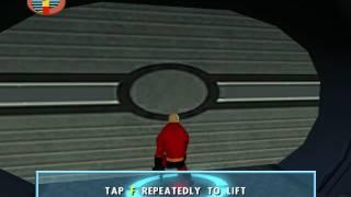 The Incredibles Video Game Walkthrough Part 9 - Robot Arena