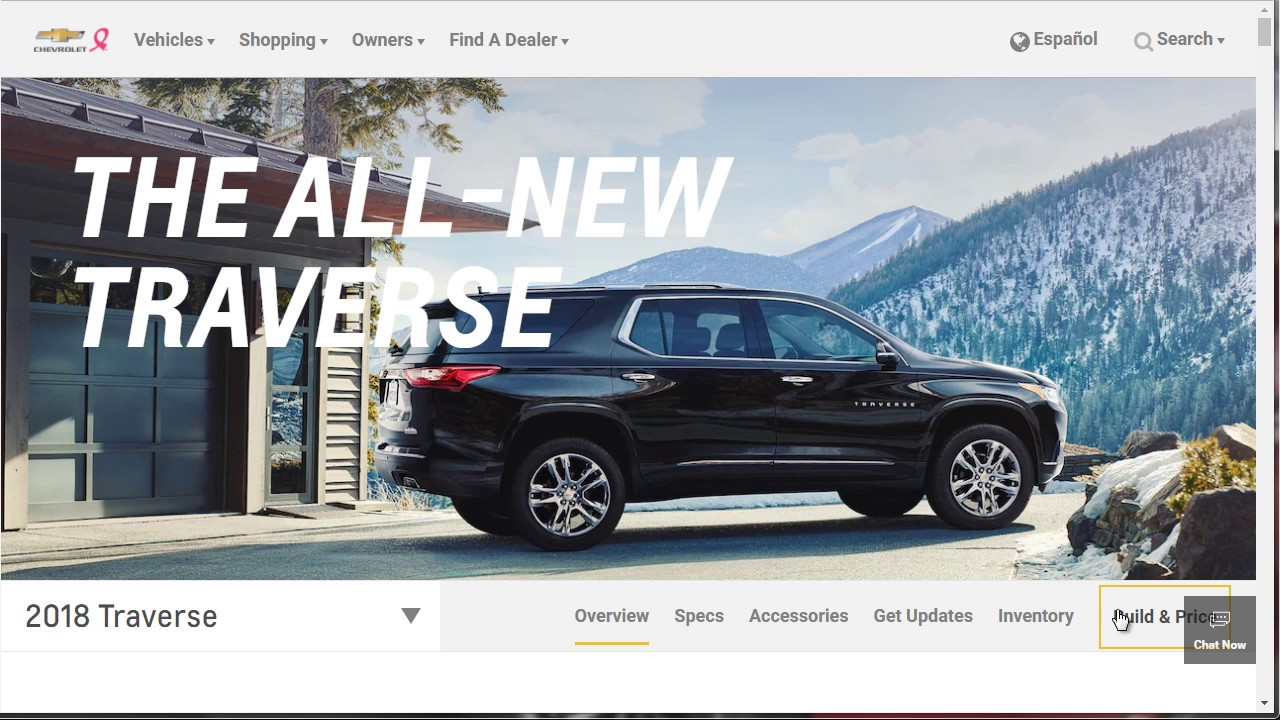 2018 Chevrolet Traverse AWD Premier   Pricing And Options   Build Your Own  Chevy