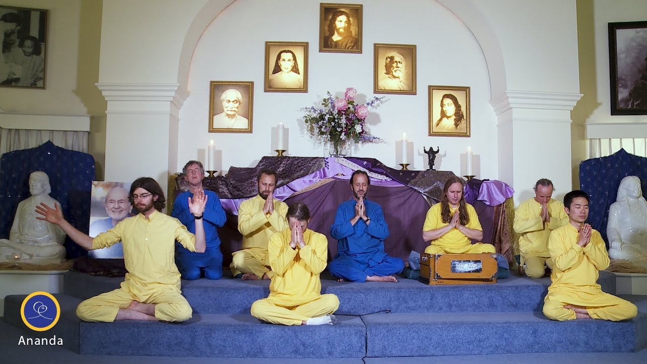Guided Meditation with the Ananda Monks - YouTube