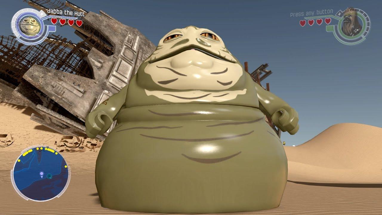 Jabba the Hutt Free Roam LEGO Star Wars The Force Awakens ...