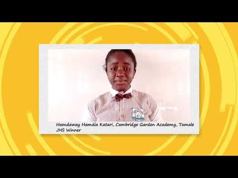 Joy Learning Essay Club - Junior High School  Winner  Appreciation  Video