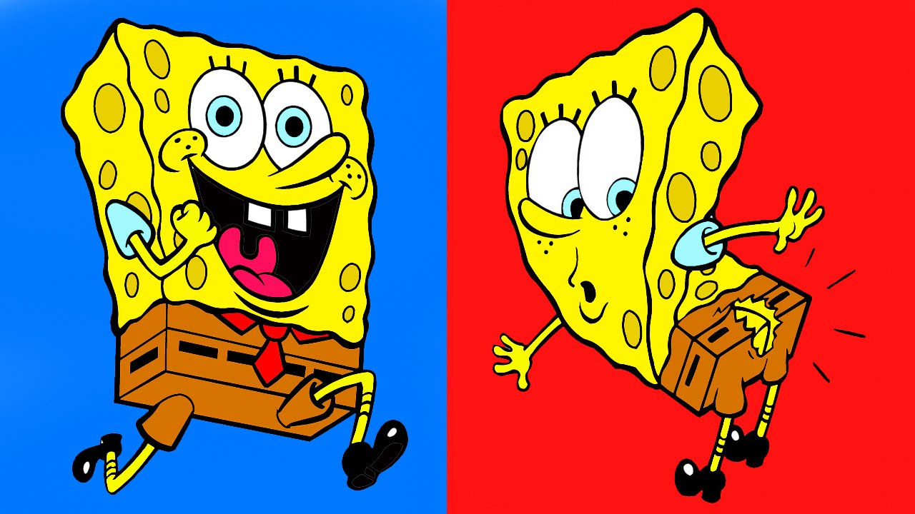 spongebob squarepants coloring for children spongebob baby