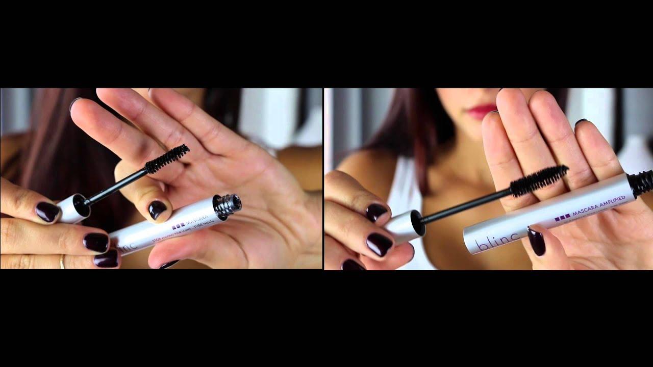 bf6634e6d84 blinc mascra vs. blinc mascara AMPLIFIED - YouTube