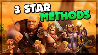 2019: 3 STAR Skill and Variety in Clash of Clans! Red Elite Top Attack Strategies!