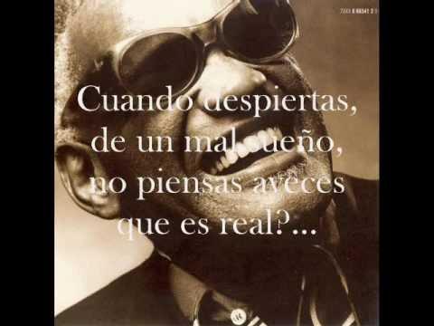 Ray charles - Cry (subtitulado al español)
