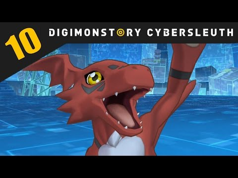 Digimon Story: Cyber Sleuth PS4 / PS Vita Let's Play Walkthrough Part 10 - Zaxon Hackers