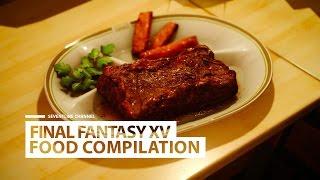FINAL FANTASY XV - All Ignis Food Compilation.