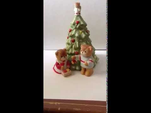 Good Buys All the Time Lucy & Me Musical Christmas Tree Figurine Plays Tune from Nutcracker Suite