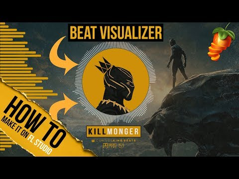 How To EASILY Make A Beat Visualizer Video For YouTube (Using Only FL Studio 12 or 20)
