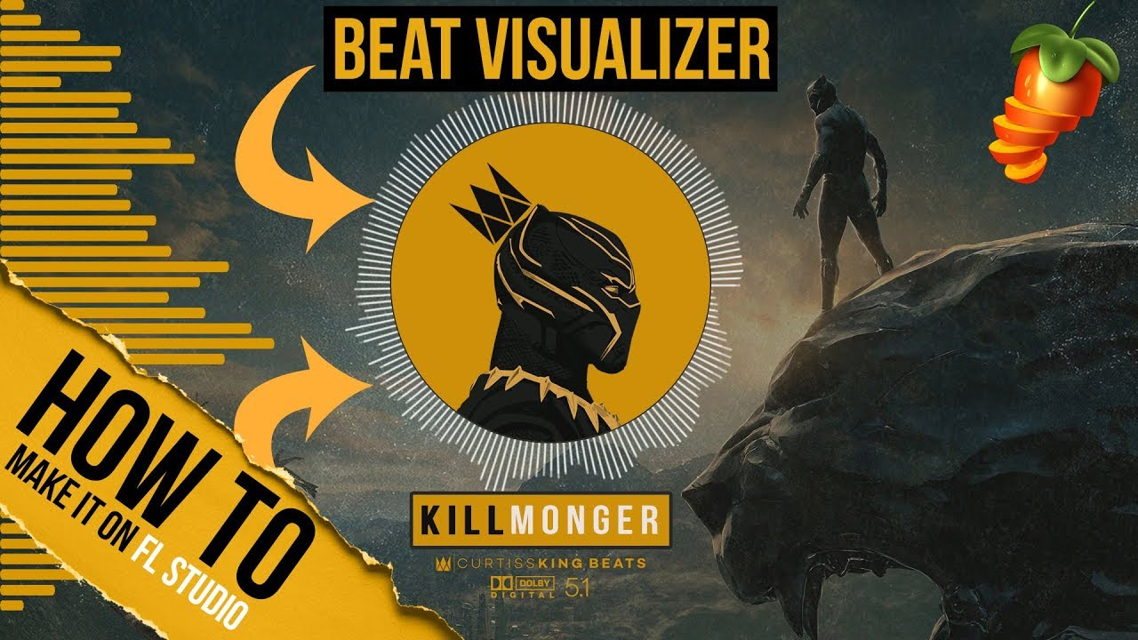 How To Easily Make A Beat Visualizer Video For Youtube Using Only Fl Studio 12 Or 20 Youtube