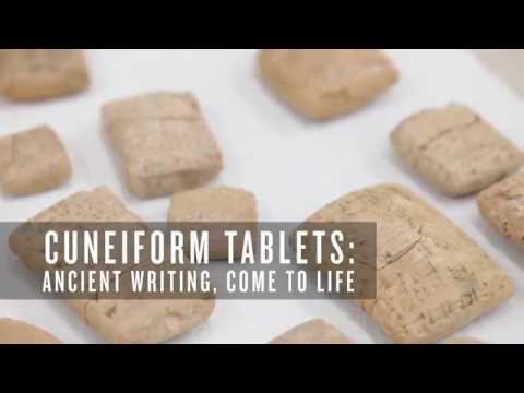 Cuneiform Tablets: Ancient Writing Comes to Life