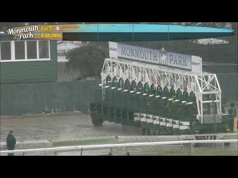 video thumbnail for MONMOUTH PARK 5-30-21 RACE 5