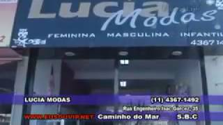 Wivyanne Leiso apresentando LUCIA MODAS