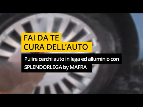 Pulizia cerchi in lega e alluminio con splendorlega di ma fra youtube - Pulizia interna termosifoni alluminio ...