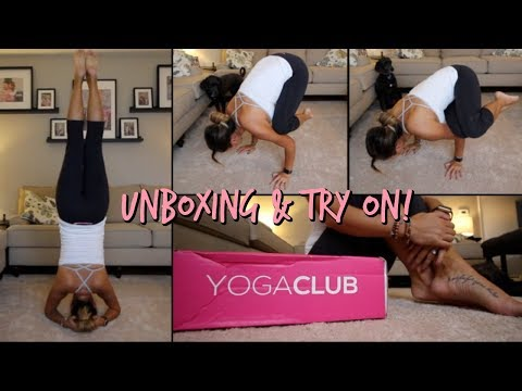 YOGA CLUB UNBOXING & TRY ON | ITSJUSTKELLI