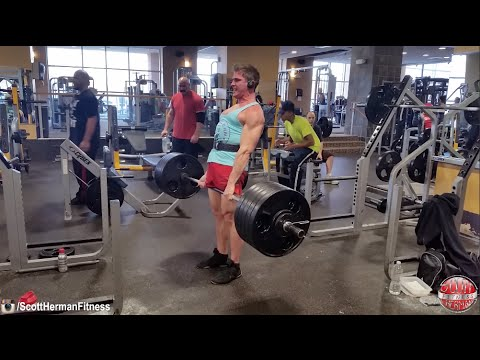 NEW PRs! Deadlift- 510lbs & Squat- 375lbs! Contest Winner & Captain America For The Day!