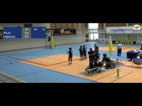 ASV TV - Volley - CDF M13 2015 - PUC Vs Harnes - BMF033