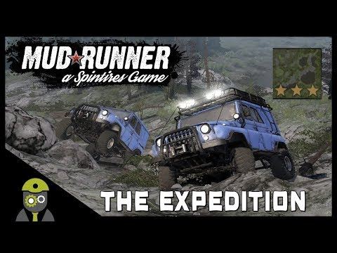 Mudrunner: Spintires (PC) - The Expedition Challenge!