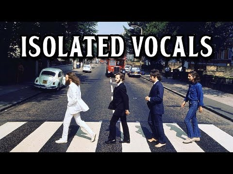 The Beatles - Abbey Road (Only Vocals)