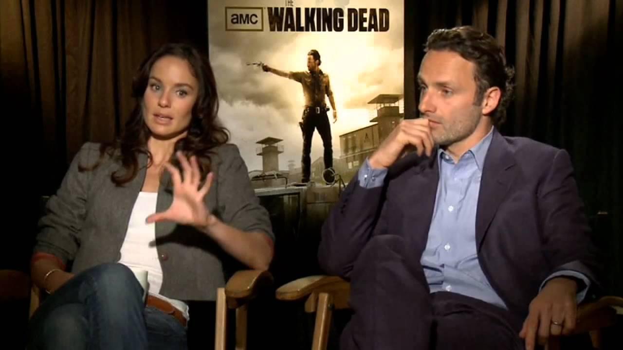 Walking Dead Stars Andrew Lincoln And Sarah Wayne Callies