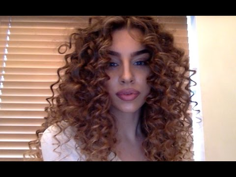 curly hair tutorial youtube