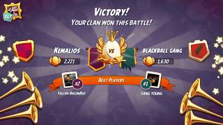 Angry Birds 2 : Kemalios Clan Battle Victory