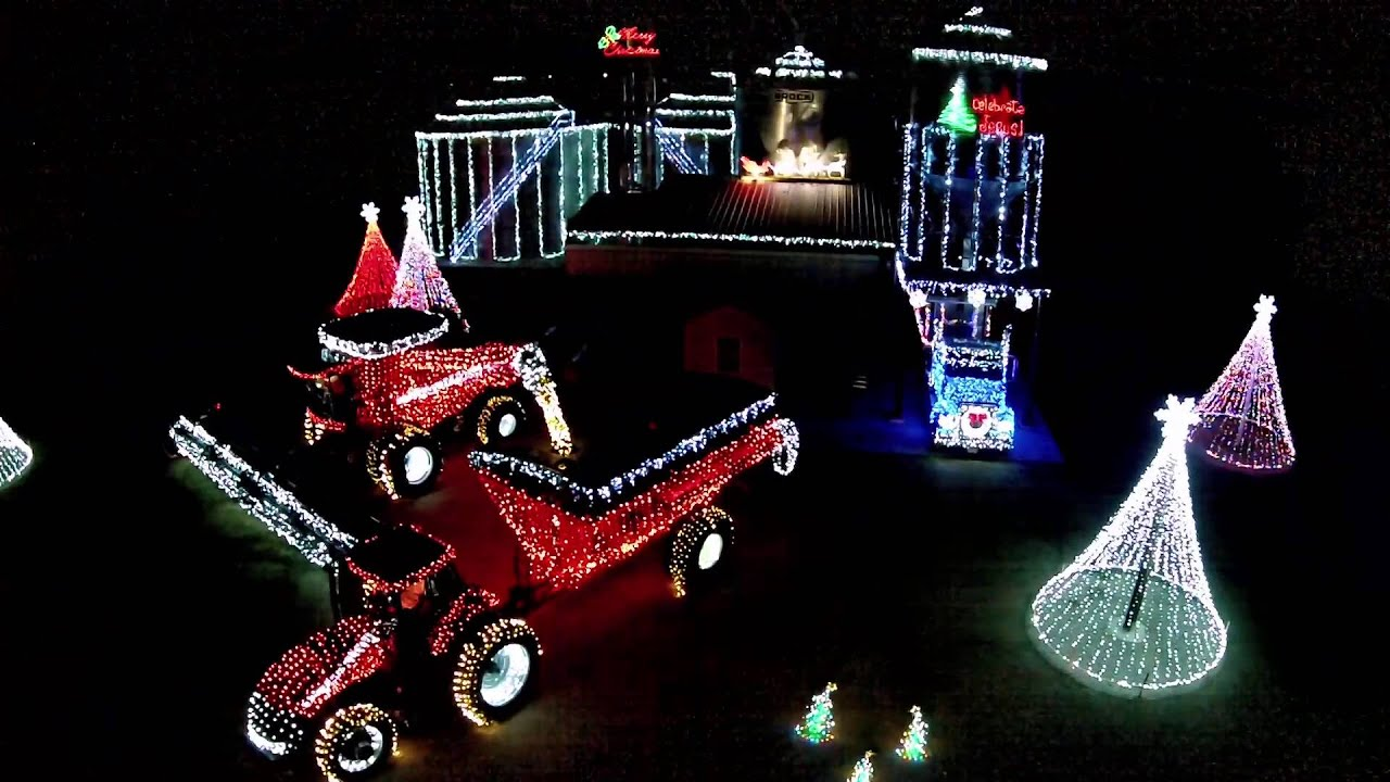 Merry Christmas Riddle Farms 2014 from Drone View & Merry Christmas Riddle Farms 2014 from Drone View - YouTube azcodes.com