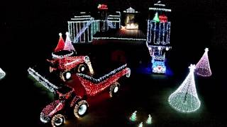 Merry Christmas Riddle Farms 2014 from Drone View