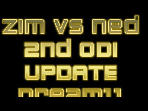 Dream11 Update Zimbabwe VS Nederlands 2nd ODI