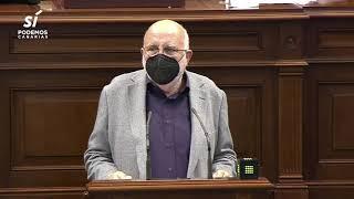 Manolo Marrero sobre la eliminación del IGIC para mascarillas y gel hidroalcohólico