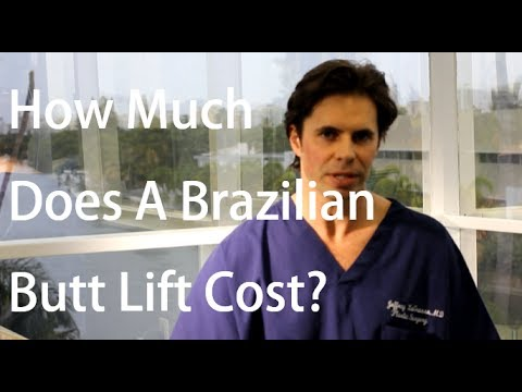 Brazilian Butt Lift: How much does it cost?
